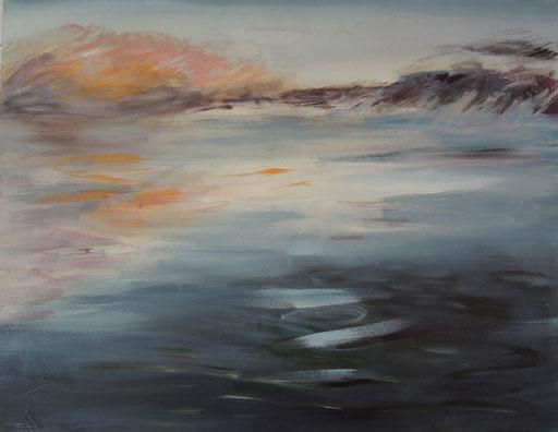 Acryl auf Leinwand. 70 x 90 cm