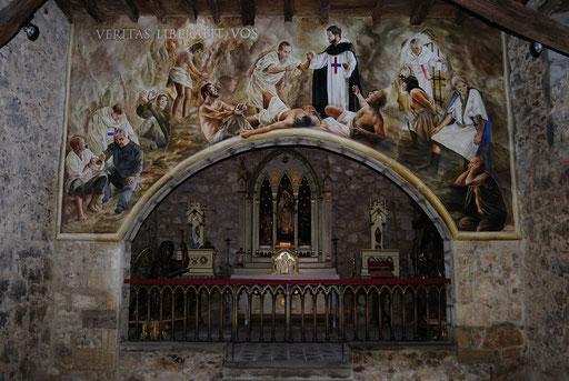 Mural al fresco realizado.