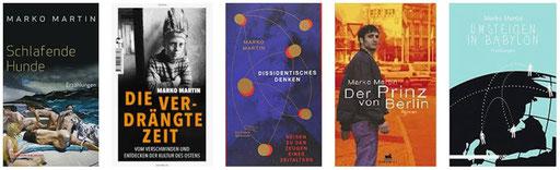 Kleine Auswahl aus den Werken Marko Martins