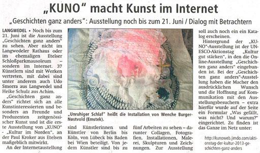 Achimer Kreiszeitung 28.5.13