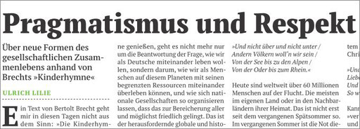 Pragmatismus und Respekt aus PuK 03/16, s.7