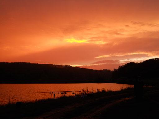 Sonnenuntergang Juni 2014