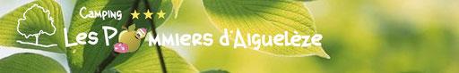Découvrez le camping d'Aiguelèze