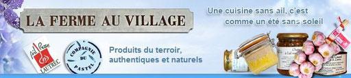 La Ferme au Village, produits du terroir et pastel de Lautrec