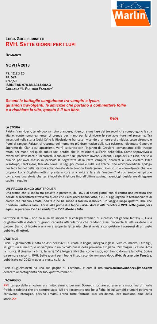 RVH II - Scheda editoriale || Clicca per ingrandire