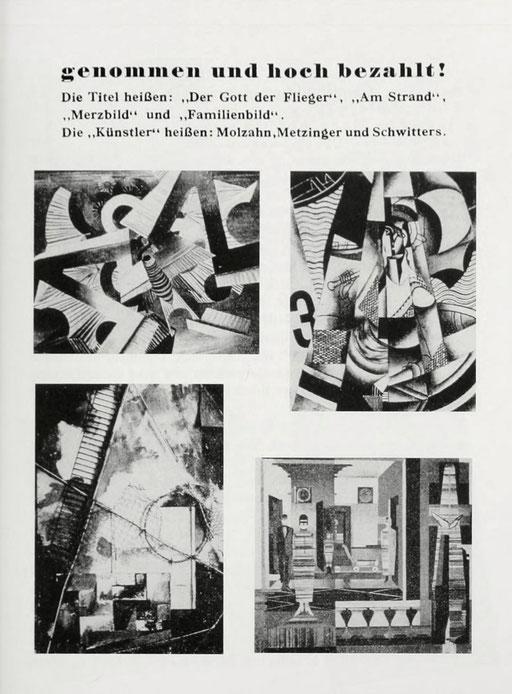 1937年に開催された「頽廃芸術展」のカタログ。