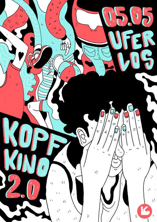 """Poster """"Kopfkino2.0"""" (2017)"""