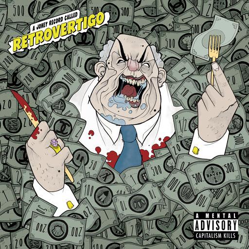 """EP Cover """"Retrovertigo"""" for """"Joney"""" (2015)"""