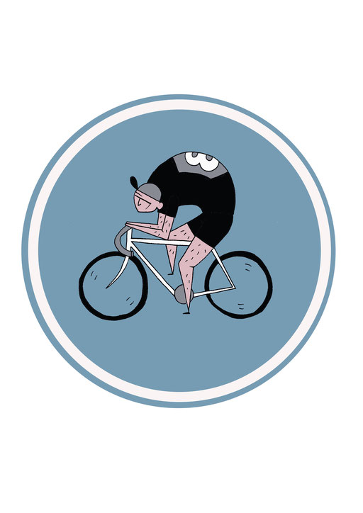 character design cyclist (2015)