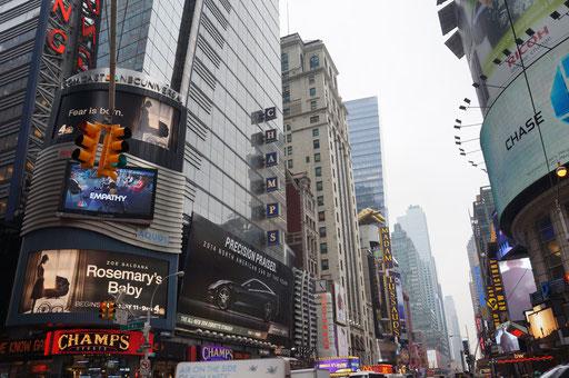 Times Square!! confusion!