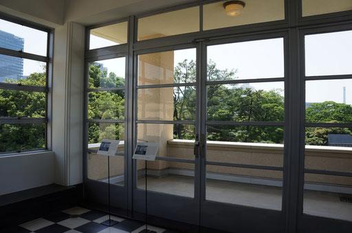 東京都庭園美術館 旧朝香宮邸物語 ウインターガーデン
