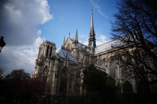 Cathe'drale Notre Dome de Paris