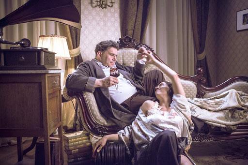 """""""Berlin und Tucholsky"""" mit Bruno Cathomas als Tucholsky. Regie Christoph Weinert"""