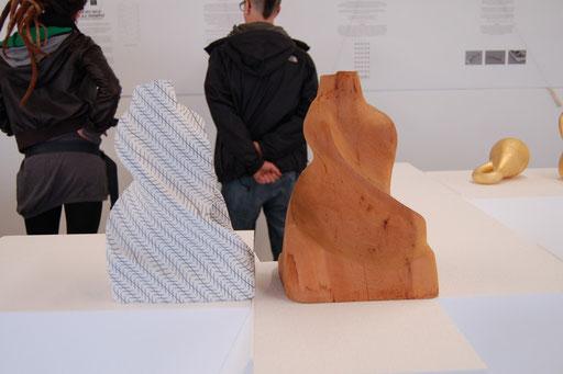 Romana Schuler, Die Zöllner Figur oder Wie kommt  das Lächeln des Djinni zustande, 1987/2012