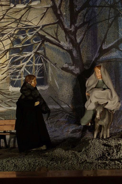 Maria begegnet Elisabeth (anklicken zum vergrößern)