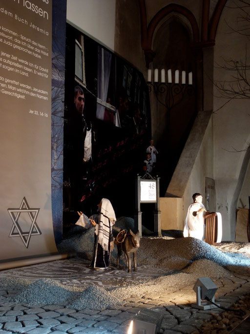 Milieukrippe lyskirchen zuwanderer roemischer volkszaehler prophet wueste