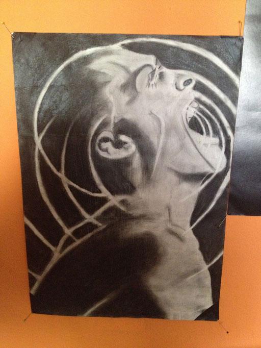 Daia's Kreidebild entstand nach einer Zeichnung von … https://myspace.com/bernesga
