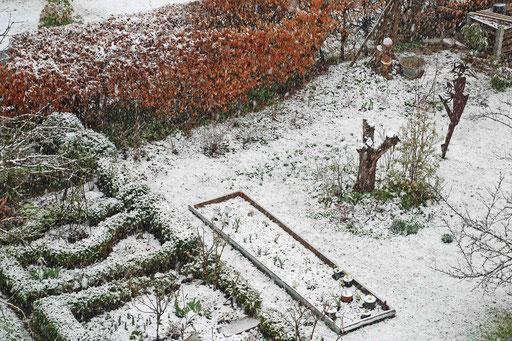 Schnee am 23.03.
