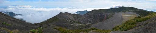 Volcán Irazú - Cráter Principal, Playa Hermosa und Cráter Diego de la Haya