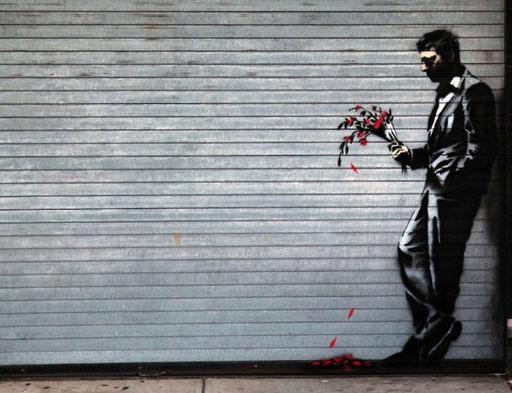 Banksy - Graffitikünstler, um den sich Legenden ranken...