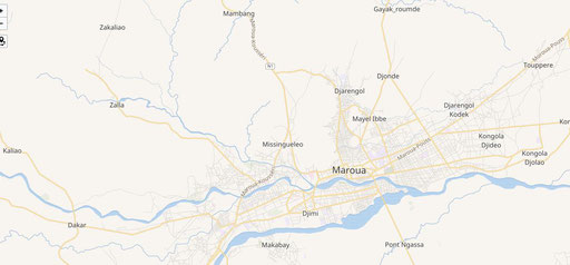 Carte de Maroua