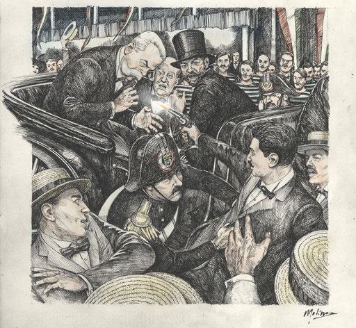 MONZA, 29 LUGLIO 1900. L'ANARCHICO GAETANO BRESCI UCCIDE UMBERTO I RE D'ITALIA (2016).