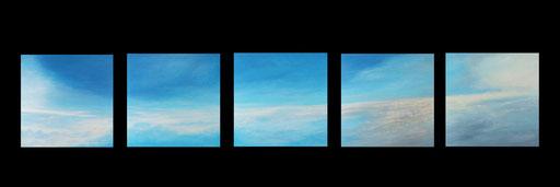 Luhns, Beteiligungsgesellschaft, London, fünfteiliges Wolkenbild