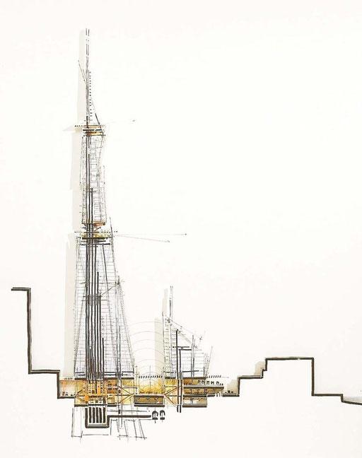 """Renzo Piano """"The Shard"""" Londres"""