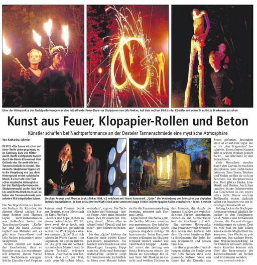 Neue Westfälisch Zeitung  25.7.16