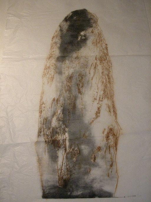 Menhir, litografía y grabado