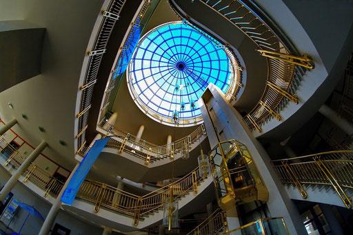 Treppenaufgang (Foto: Dieter Neumann)