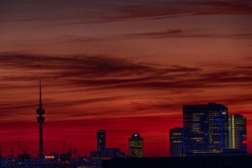 Skyline München, Foto: Elke Englmaier