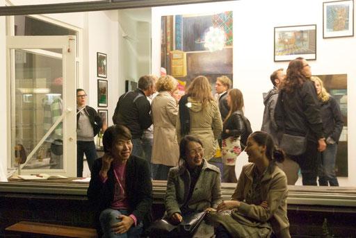 Eröffnung der Ausstellung von MAREN SCHIMMER, Hamburg 09/12