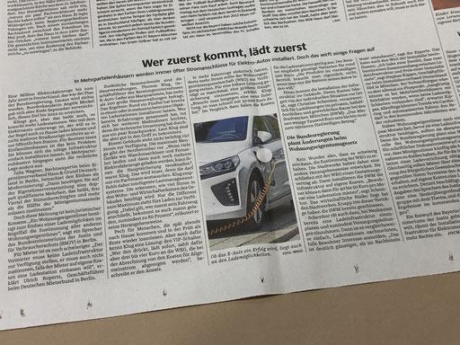 EAutoLader in der Süddeutschen Zeitung