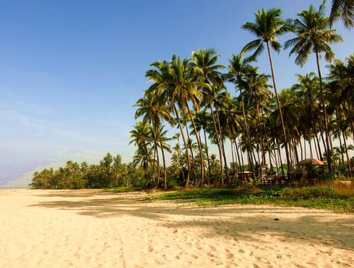 Palmenstrand in Ngwe-Saung