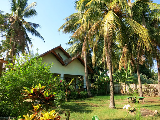 Unterkunft auf den Gili-Inseln