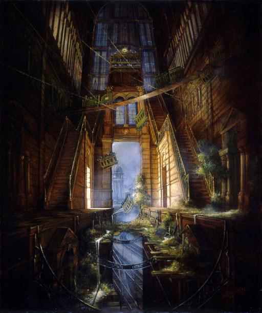 Peinture de Halingre qui a inspirer le décor du texte.