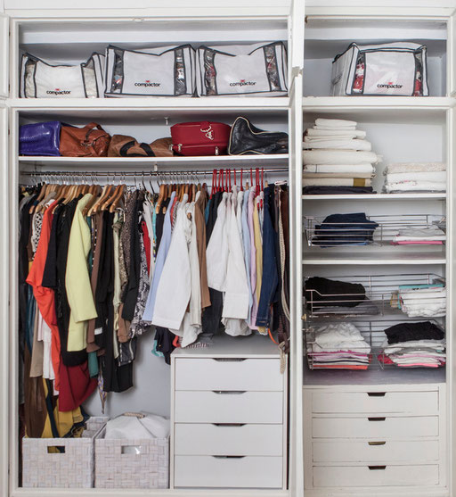 Organiza tu ropa con leroy merlin organ zate de la a a la z - Organizar armarios ropa ...