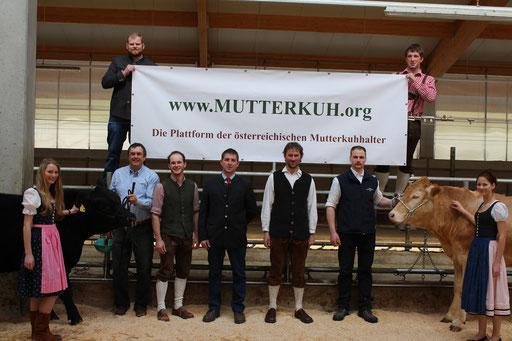 Aufgenommen am 2. Niederösterreichischen Fleischrindertag