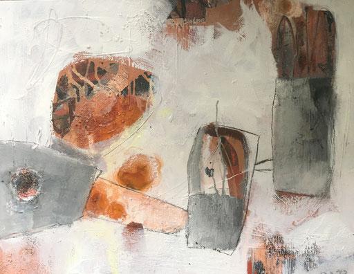 Acryl-Mischtechnik auf Leinwand Bild Nr. 54 2018