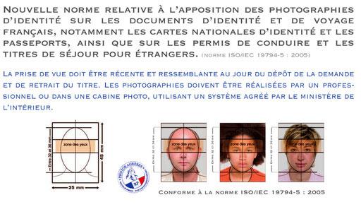 photos identite normes