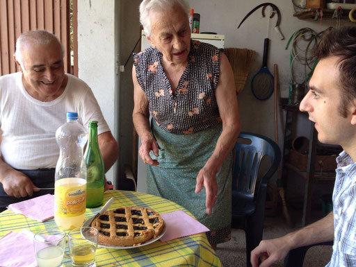 イタリアの家族
