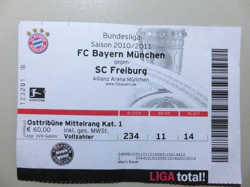 Sc Freiburg Karten.Fc Bayern München Sc Freiburg Die Homepage Der Bauers