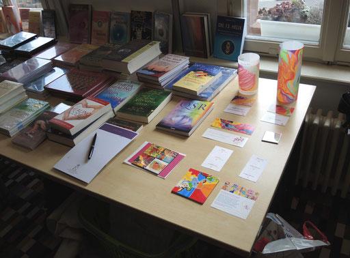 Jayc Jay Arts Geschenke werden vor Ort direkt von der Künstlerin beseelt