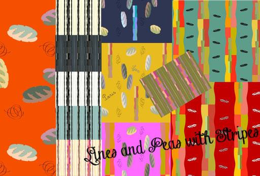 Suze LaRousse Lines & Peas Patterns