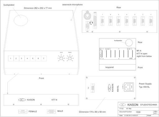 Desktop Station KT7-46