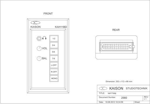 Desktop Monitor KAH11
