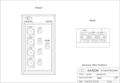 Desktop Monitor KAH12