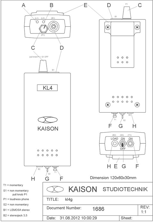 Wireless Beltpack KL4