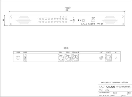 SDI Monitor KAH29